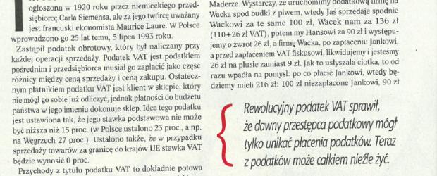 Kielce: Okiem Przedsiębiorcy. Vat i innowacyjna teściowa – Jerzy Kenig