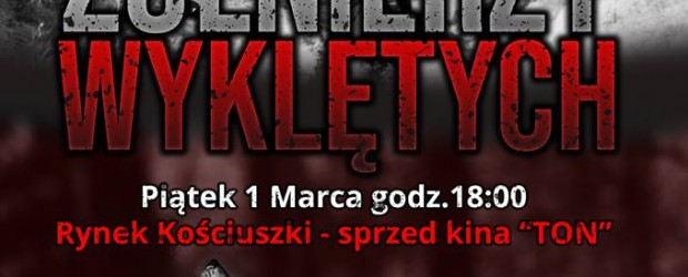 Białystok: Zaproszenie – upamiętnienie Żołnierzy Wyklętych 1 marca godz. 18