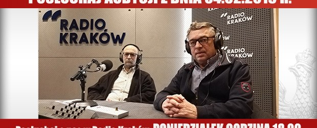 """POSŁUCHAJ AUDYCJI: """"Radiowy Klub Gazety Polskiej"""" – 04.02.2019 r.(audio)"""