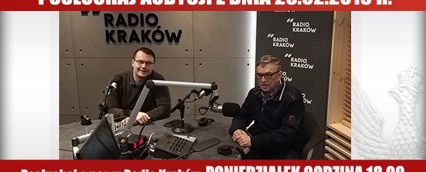 """POSŁUCHAJ AUDYCJI: """"Radiowy Klub Gazety Polskiej"""" – 25.02.2019 r. (audio)"""