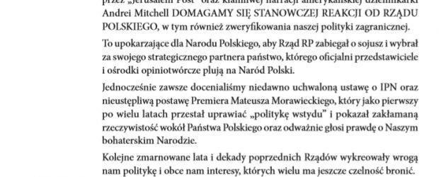 Sandomierz: Stanowczo Protestujemy!