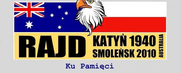 Sydney: Rajd Katyń 1940 Smoleńsk 2010 Australia 5-7 kwietnia 2019