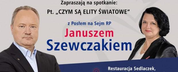 Tarnowskie Góry II: Zaproszenie – Spotkanie z Posłem RP Januszem Szewczakiem 23 lutego godz.18:00