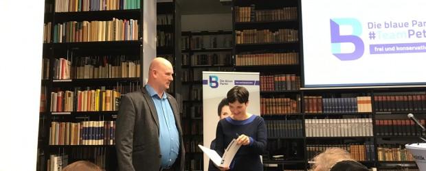 Berlin-Brandenburg: Spotkanie z dr Frauke Petry w Berlinie