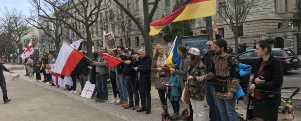 Berlin-Brandenburg: Demonstracje diaspory gruzińskiej