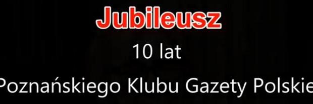 Poznań: Jubileusz Klubu GP w Poznaniu