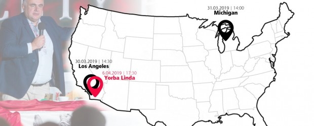 """Los Angeles (USA), Michigan (Detroit)– spotkanie z red. nacz. """"GP"""" Tomaszem Sakiewiczem"""