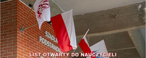 """Klub """"GP"""" DzierżoniówII: List otwarty do nauczycieli"""