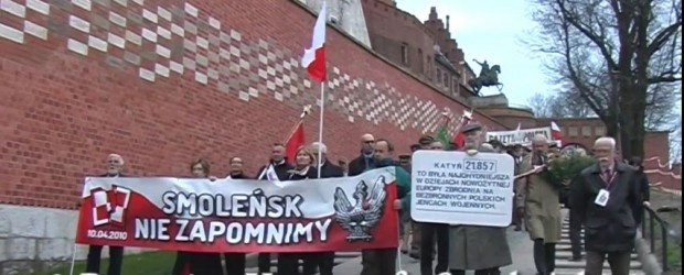 Kraków: Krakowskie obchody IX rocznicy smoleńskiej