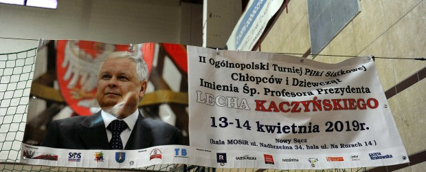 Nowy Sącz II: Zakończył się II Ogólnopolski Turniej Piłki Siatkowej Dziewcząt i Chłopców Imieniem Śp. Profesora Prezydenta LECHA KACZYŃSKIEGO (fotorelacja)