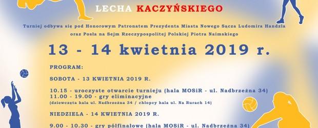 NOWY SĄCZ – II Ogólnopolski Turniej Piłki Siatkowej Dziewcząt i Chłopców Imieniem Śp. Profesora Prezydenta LECHA KACZYŃSKIEGO, 13 kwietnia