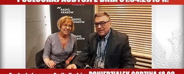 """POSŁUCHAJ AUDYCJI: """"Radiowy Klub Gazety Polskiej"""" – 01.04.2019 r.(audio)"""