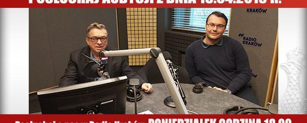 """POSŁUCHAJ AUDYCJI: """"Radiowy Klub Gazety Polskiej"""" – 15.04.2019 r.(audio)"""
