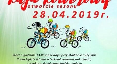 Starogard Gd.: Zaproszenie na Rodzinny Rajd Rowerowy