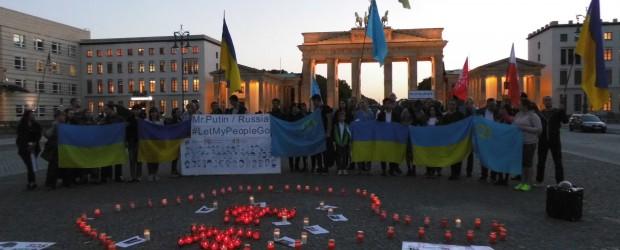 Berlin – Brandenburg (Niemcy): Demonstracja na Placu Paryskim w Berlinie