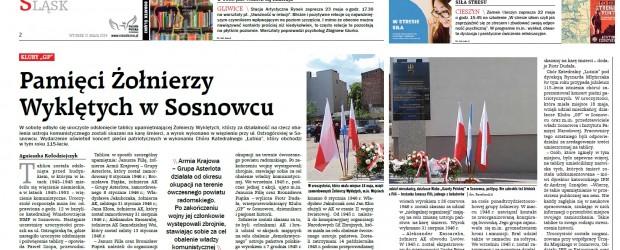 [GPC] Pamięci Żołnierzy Wyklętych w Sosnowcu