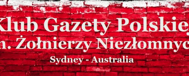 """Oświadczenie Klubu """"GP"""" w Sydney ws. 447. W pełni solidaryzują się z Tomaszem Sakiewiczem"""