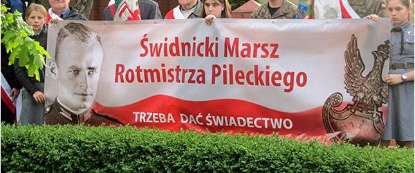 Dzierżoniów II: I Świdnicki Marsz Rotmistrza Pileckiego