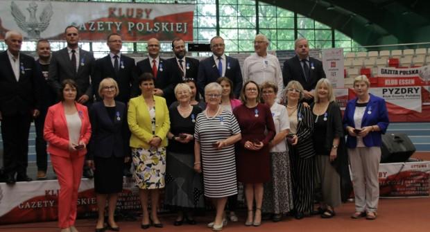 Medale 100 lecia Odzyskania niepodległości dla zasłużonych członków Klubów GP (wideo)