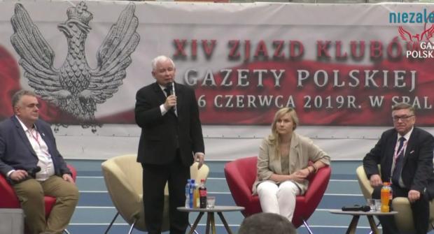 """Prezes PiS podziękował Klubom """"Gazety Polskiej"""": """"Po raz kolejny nie zawiedliście"""""""
