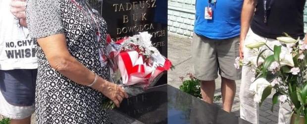 Elbląg: Grób generała Tadeusza Buka.