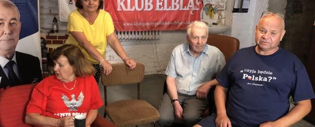 Elbląg: Spotkanie Elbląskiego Klubu Gazety Polskiej