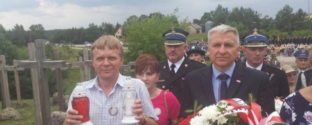 Suwałki: Obchody upamiętniające 74 Rocznicę Obławy Augustowskiej.