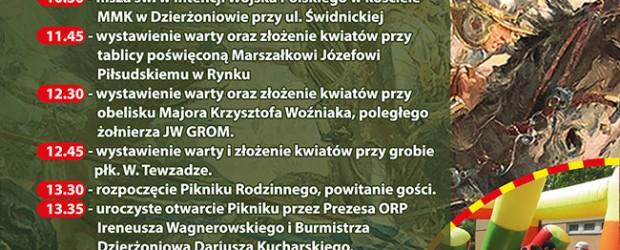 Dzierżoniów II: Zaproszenie – Święto Wojska Polskiego. 15 sierpnia godz. 13:30