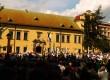 Tłumy na wiecu wsparcia dla abp. Jędraszewskiego. Sakiewicz: Śpiący olbrzym właśnie się obudził (wideo)