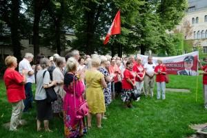 Poznań: 112 miesięcznica tragedii smoleńskiej obchody w Poznaniu