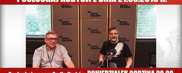 """POSŁUCHAJ AUDYCJI: """"Radiowy Klub Gazety Polskiej"""" – 19.08.2019 r.(audio)"""