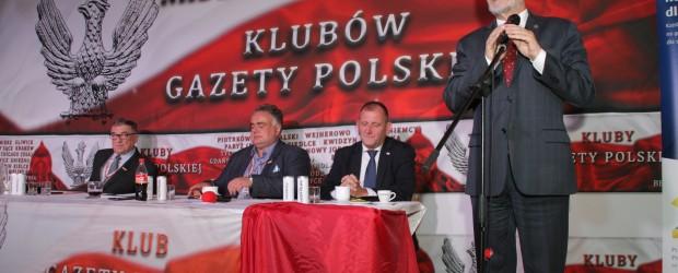 V Nadzwyczajny Zjazd Klubów GP Min Antoni Macierewicz – Wyzwania dla obozu patriotycznego (wideo)