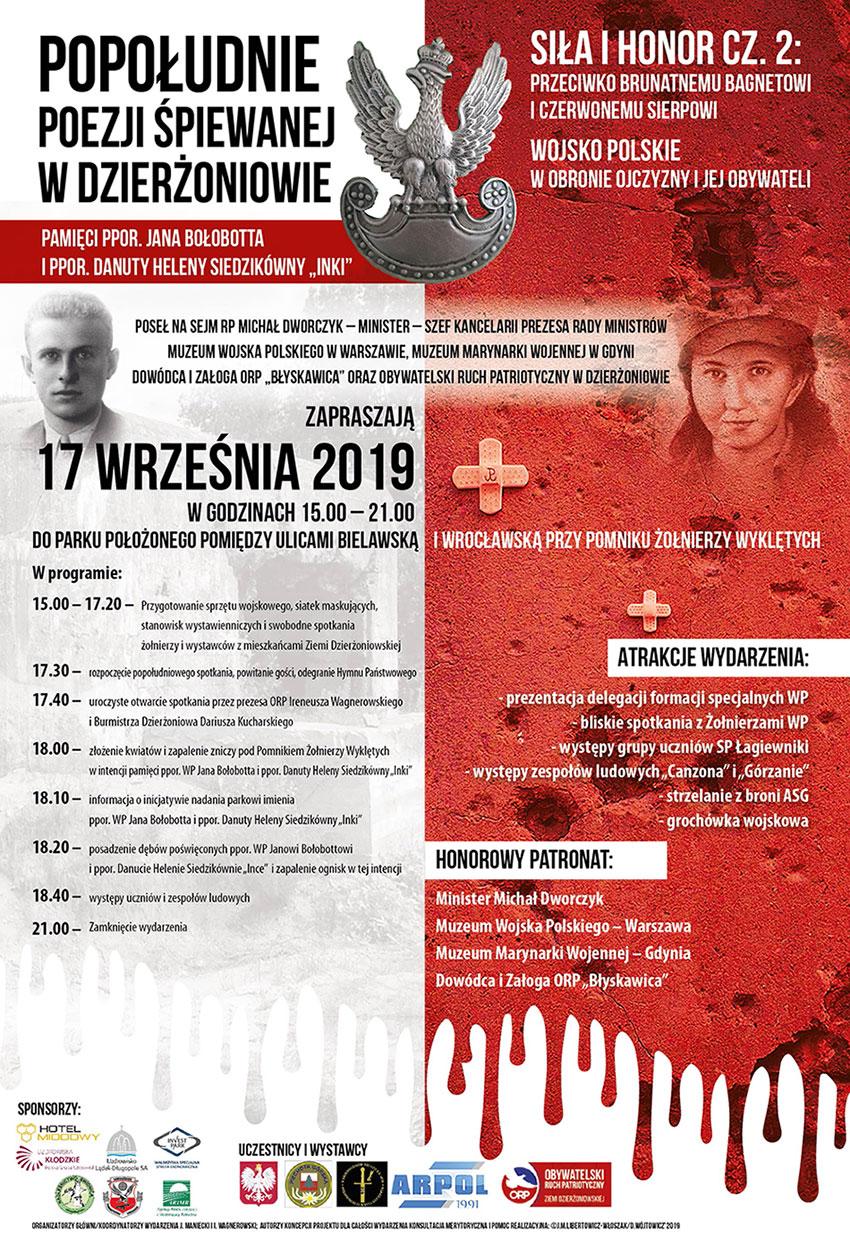 Dzierzoniow plakat 17 września 2019