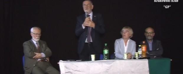 Spotkanie z kandydatami do Sejmu i Senatu RP w Krakowie
