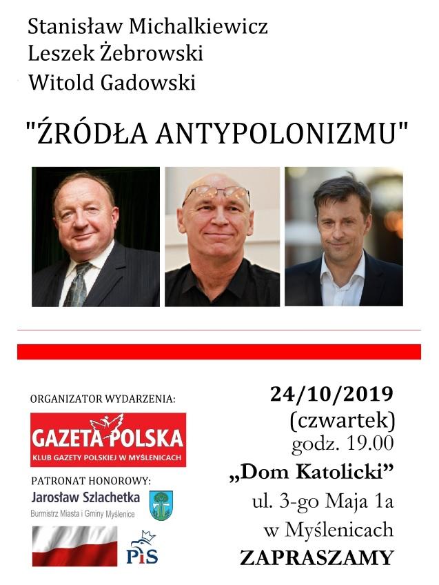 Myslenice Michalkiewicz, Zebrowski, Gadowski2019