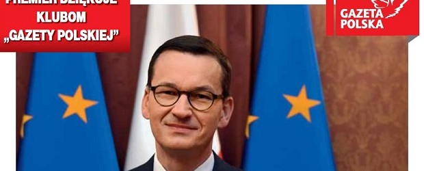 """Premier Mateusz Morawiecki dziękuje Klubom """"Gazety Polskiej"""""""