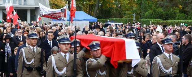 Pogrzeb śp. Marszałka Kornela Morawieckiego