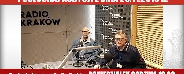 """POSŁUCHAJ AUDYCJI: """"Radiowy Klub Gazety Polskiej"""" – 25.11.2019 r.(audio)"""
