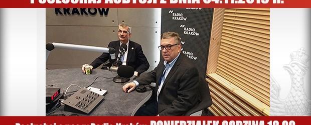"""POSŁUCHAJ AUDYCJI: """"Radiowy Klub Gazety Polskiej"""" – 04.11.2019 r.(audio)"""