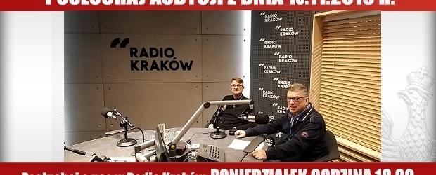 """POSŁUCHAJ AUDYCJI: """"Radiowy Klub Gazety Polskiej"""" – 18.11.2019 r.(audio)"""