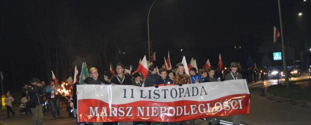 XIV Młodzieżowy Marsz Niepodległości w Suwałkach 11.11.2019 r.