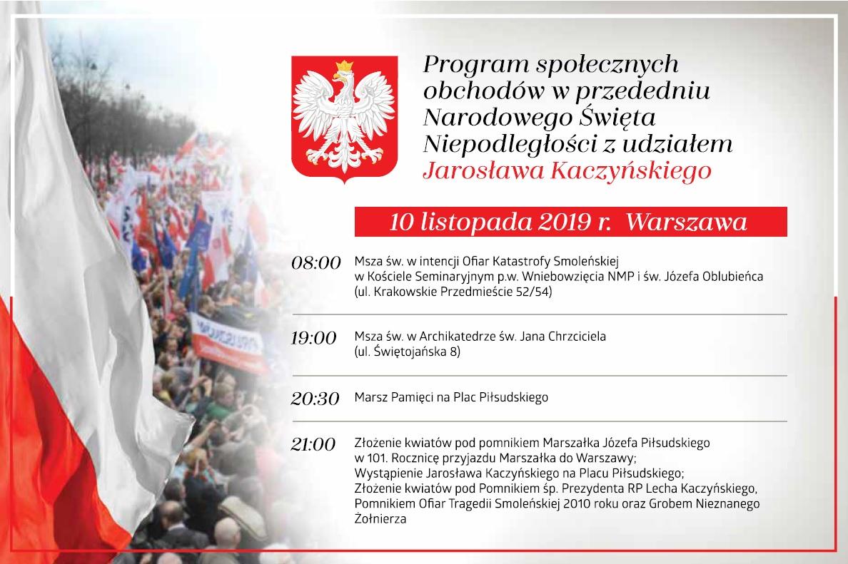 Warszawa 11.11.2019