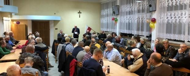 Tomasz Sakiewicz na spotkaniu w Zgorzelcu