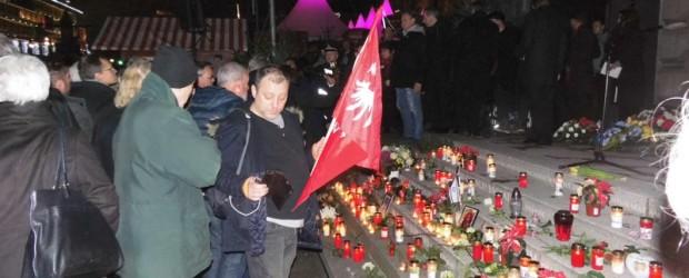 Berlin-Brandenburg: Upamiętnienie ofiar zamachu islamskiego.