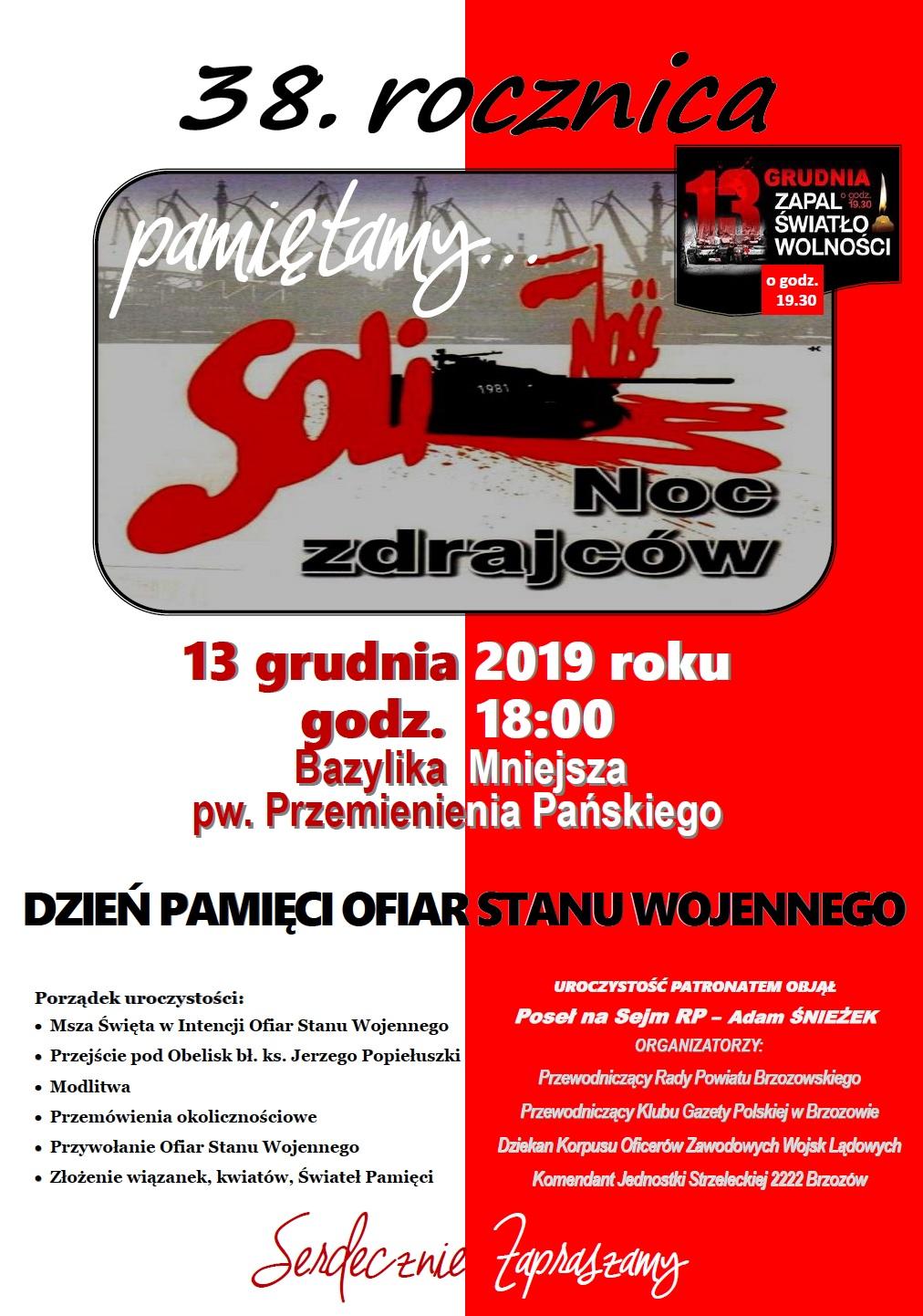 Brzozow 13 grudnia 2019