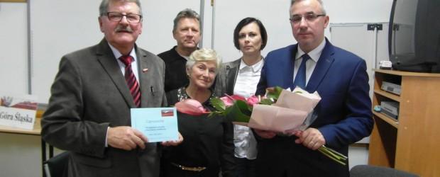 """Promocja książki """"Powrót do Jedwabnego"""" Wojciecha Sumlińskiego w Górze Śląskiej"""