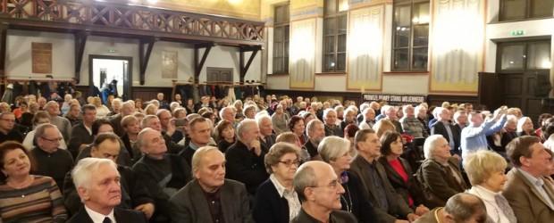 Niezwykły koncert Jana Pietrzaka w Krakowie