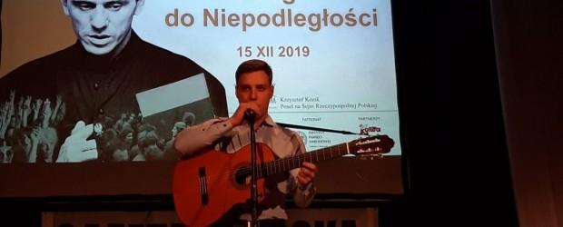 Libiąż: Koncert Bartłomieja Kurowskiego