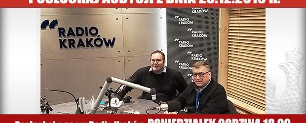 """POSŁUCHAJ AUDYCJI: """"Radiowy Klub Gazety Polskiej"""" – 23.12.2019 r.(audio)"""