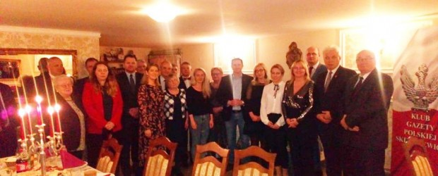 Skierniewice – Wigilia w Klubie Gazety Polskiej w Skierniewicach